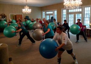 Variety Mix Exercise Class
